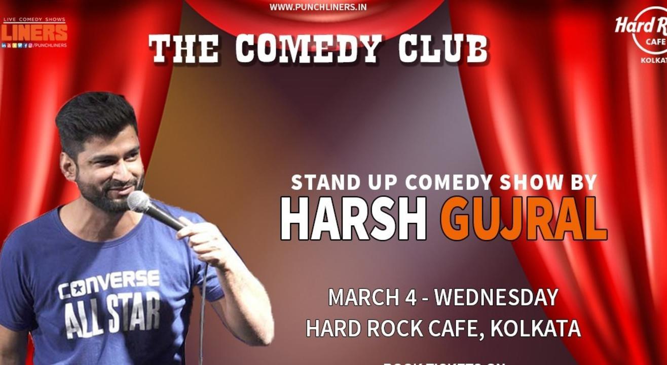 Punchliners Comedy Show ft Harsh Gujral in Kolkata
