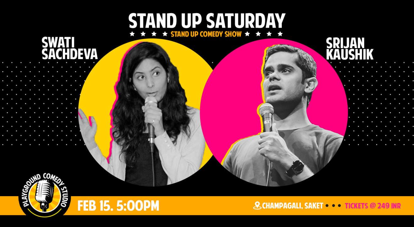 Standup Saturday with Srijan & Swati
