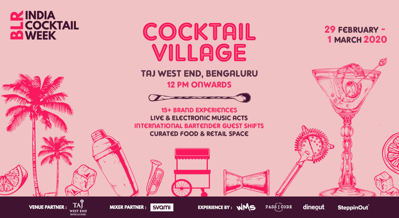 India Cocktail Week - Cocktail Village (Bengaluru)