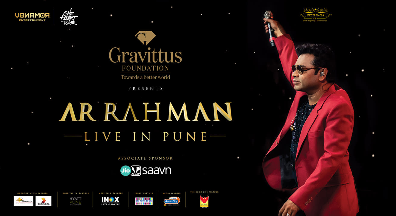 A R Rahman Live in Pune – One Heart Tour