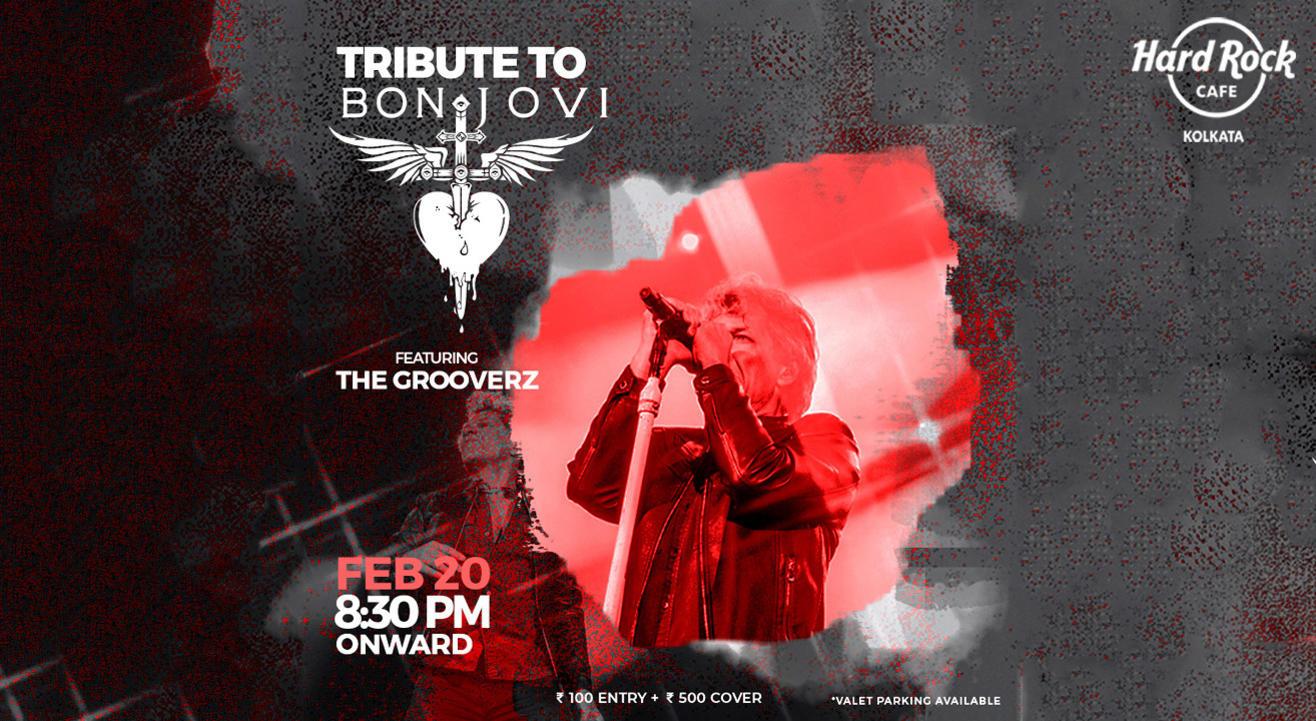 Thursday Live Tribute to Bon Jovi ft. Grooverz