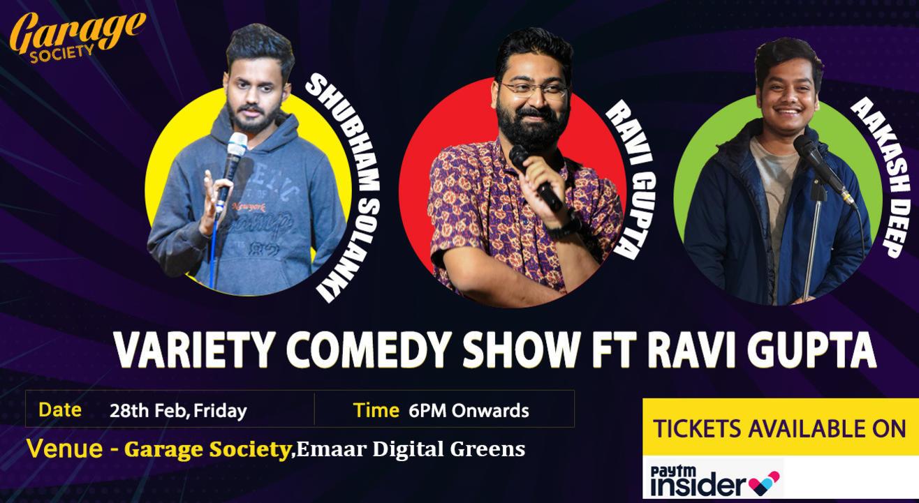 Variety Comedy show FT Ravi Gupta