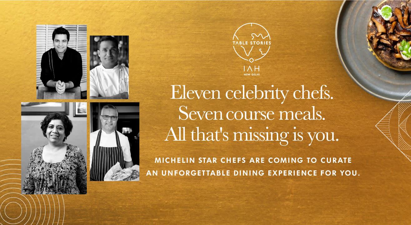 Michelin Star Chefs Await You