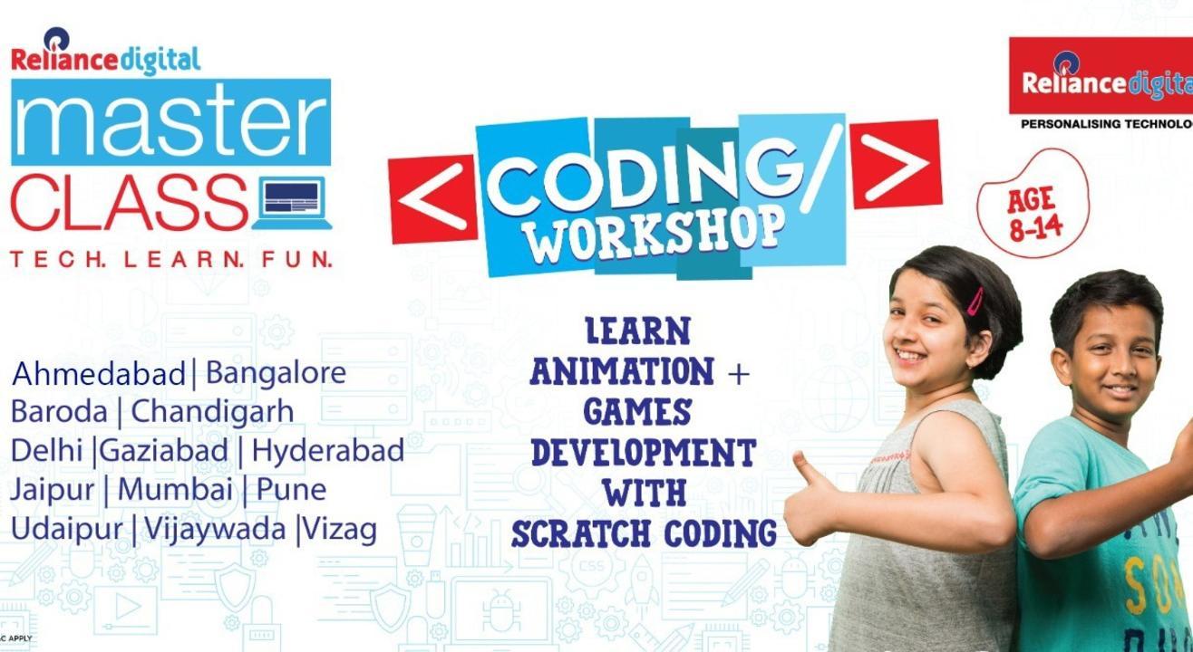 MasterClass Coding Workshop - Delhi