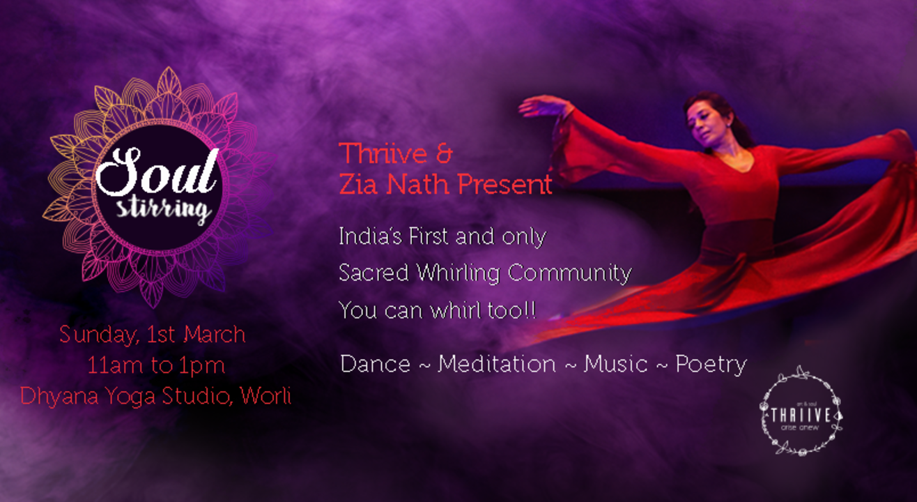 India's first and only Sacred Whirling Community: You can whirl too!!