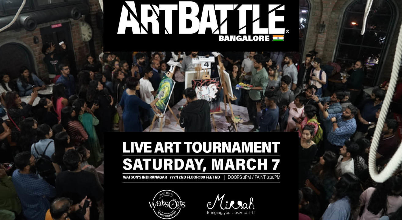 Art Battle Bangalore - 7 March 2020