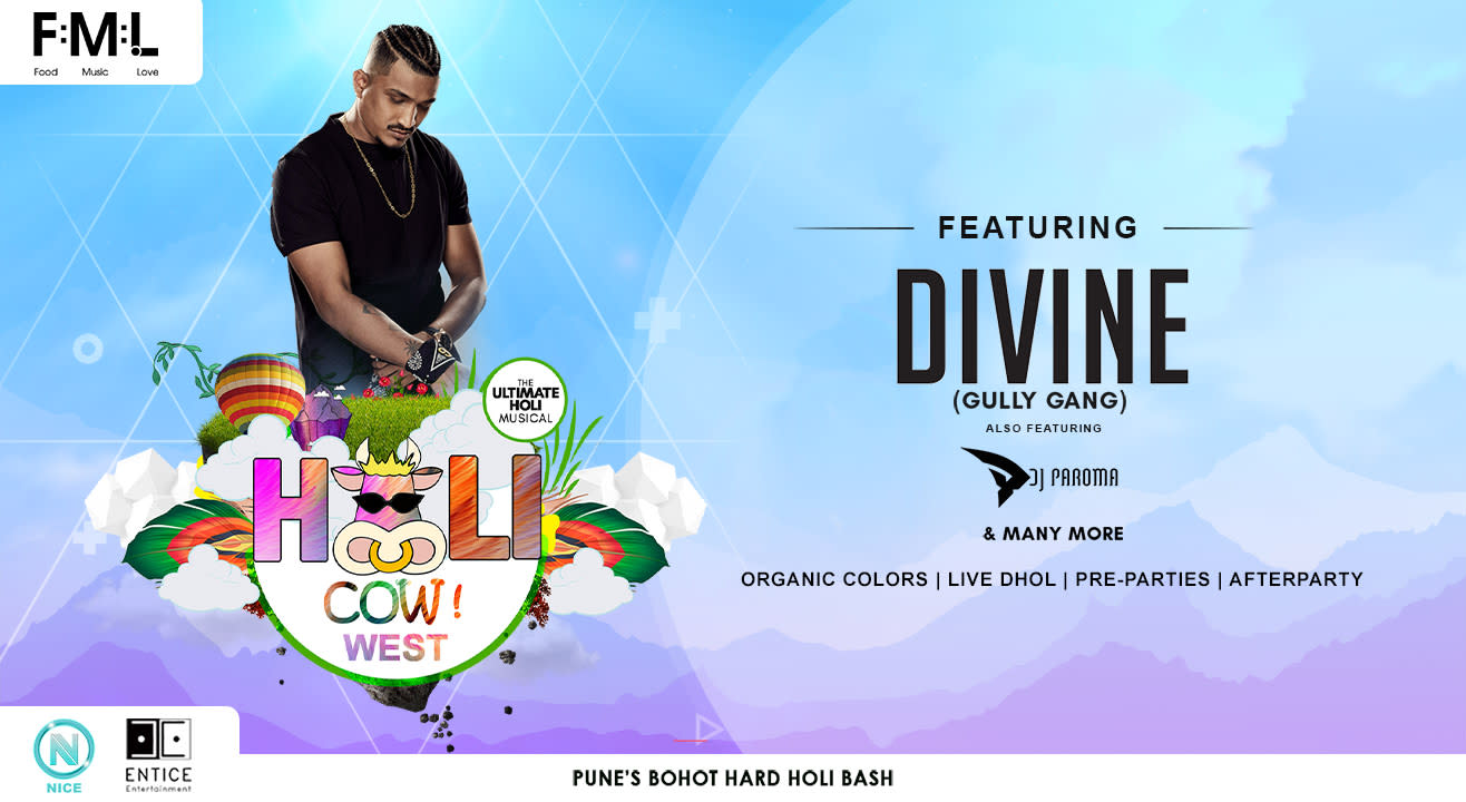 Holi Cow West(Hinjewadi) ft. DIVINE(Gully Gang)