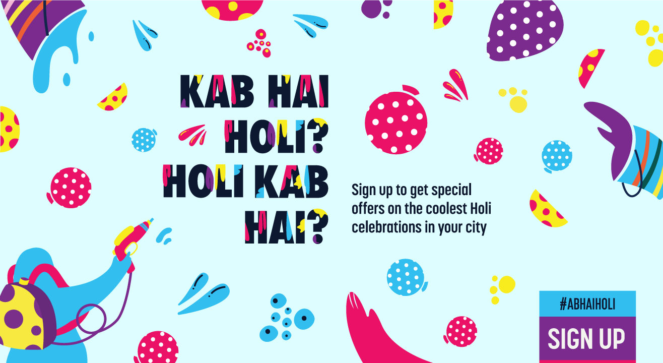 Yellow There! Check out Holi events & parties in Mumbai - Paytm Insider