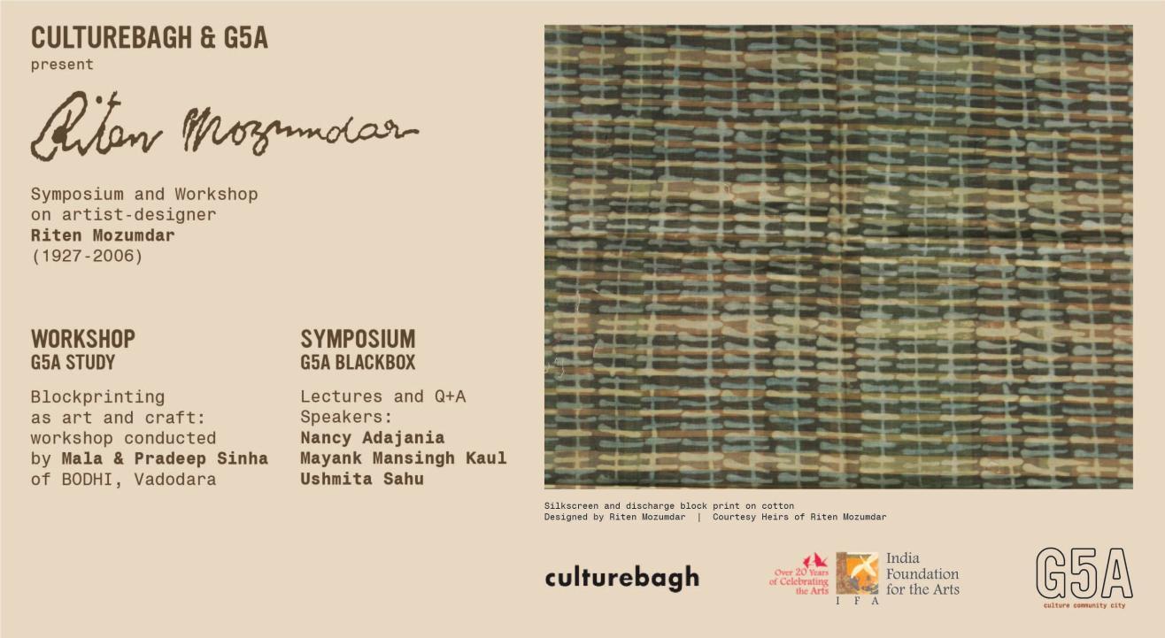 Culturebagh X G5A | Riten Mozumdar