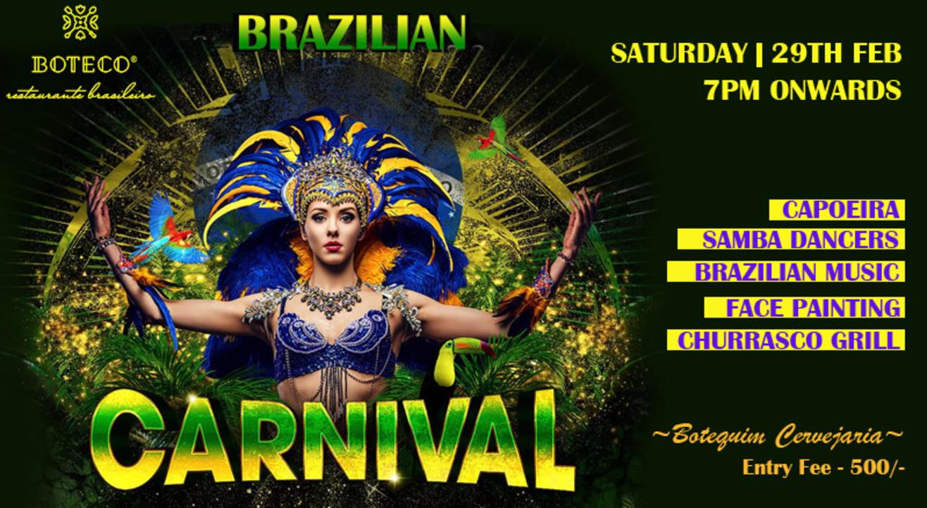 Boteco's Brazilian Carnival Party!