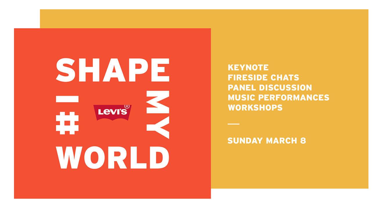 Levi's® presents I Shape My World