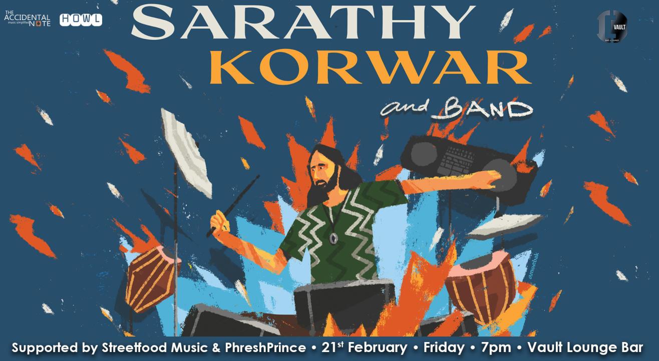 Sarathy Korwar Band Live
