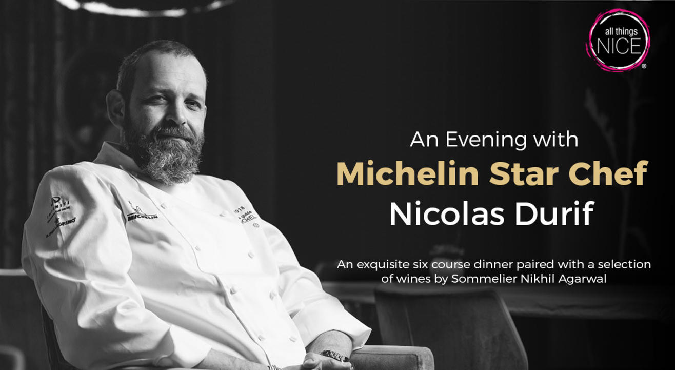 An evening with Michelin Star Chef Nicolas Durif