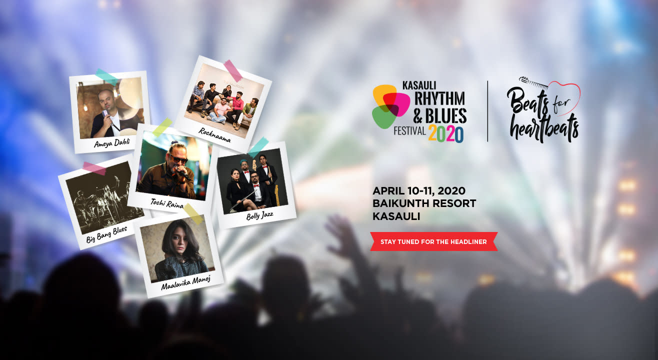 Kasauli Rhythm & Blues Festival, 2020