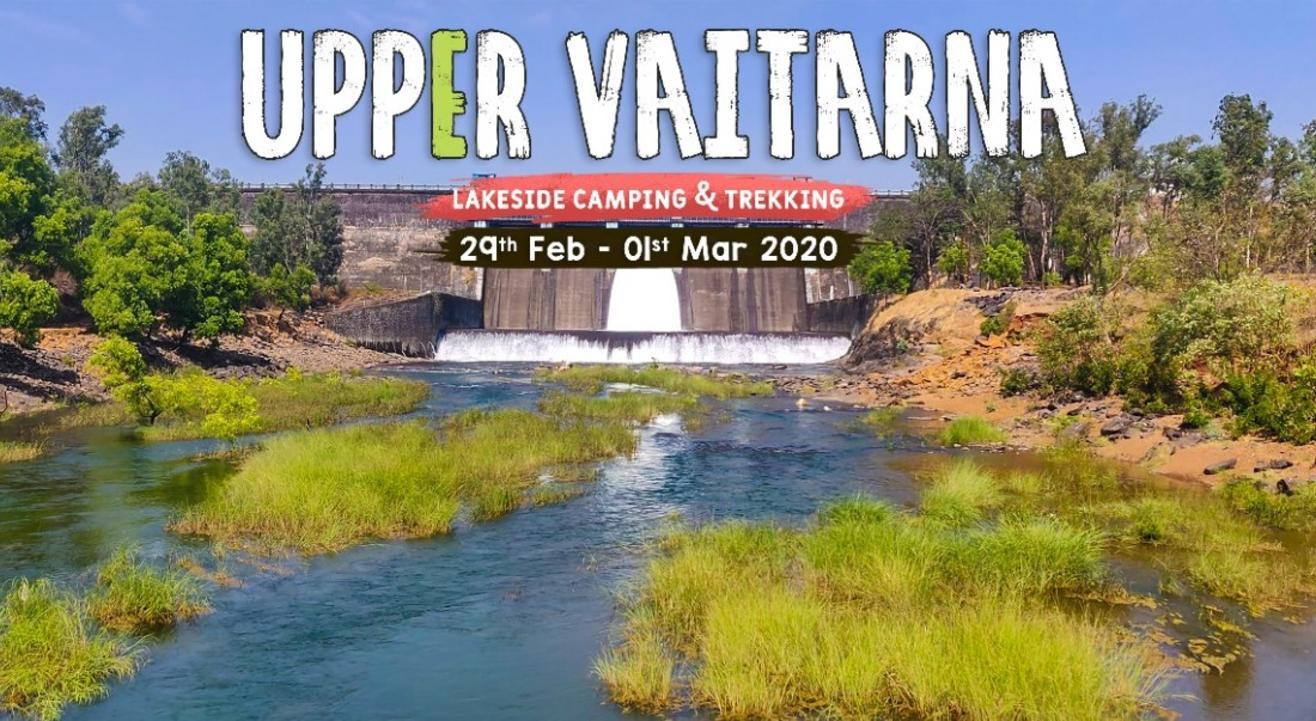 Lakeside Camping and Trekking at Upper Vaitarna with Trikon
