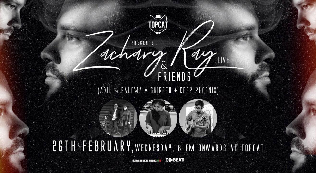 Zachary Ray & Friends Live at TopCat CCU