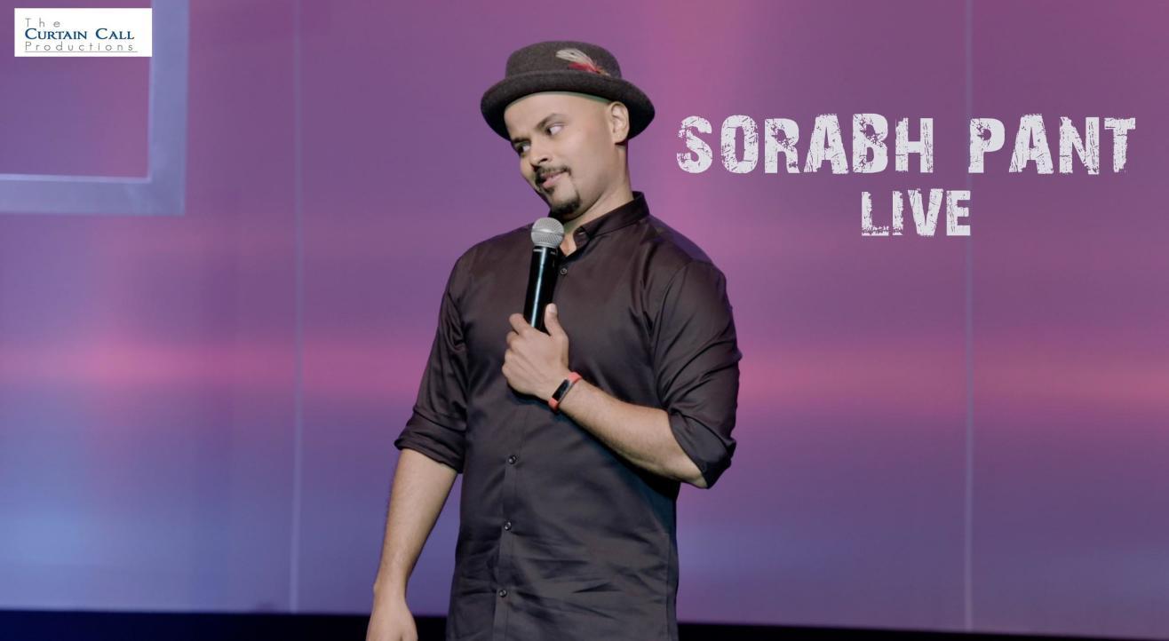 Sorabh Pant Live in Gurgaon