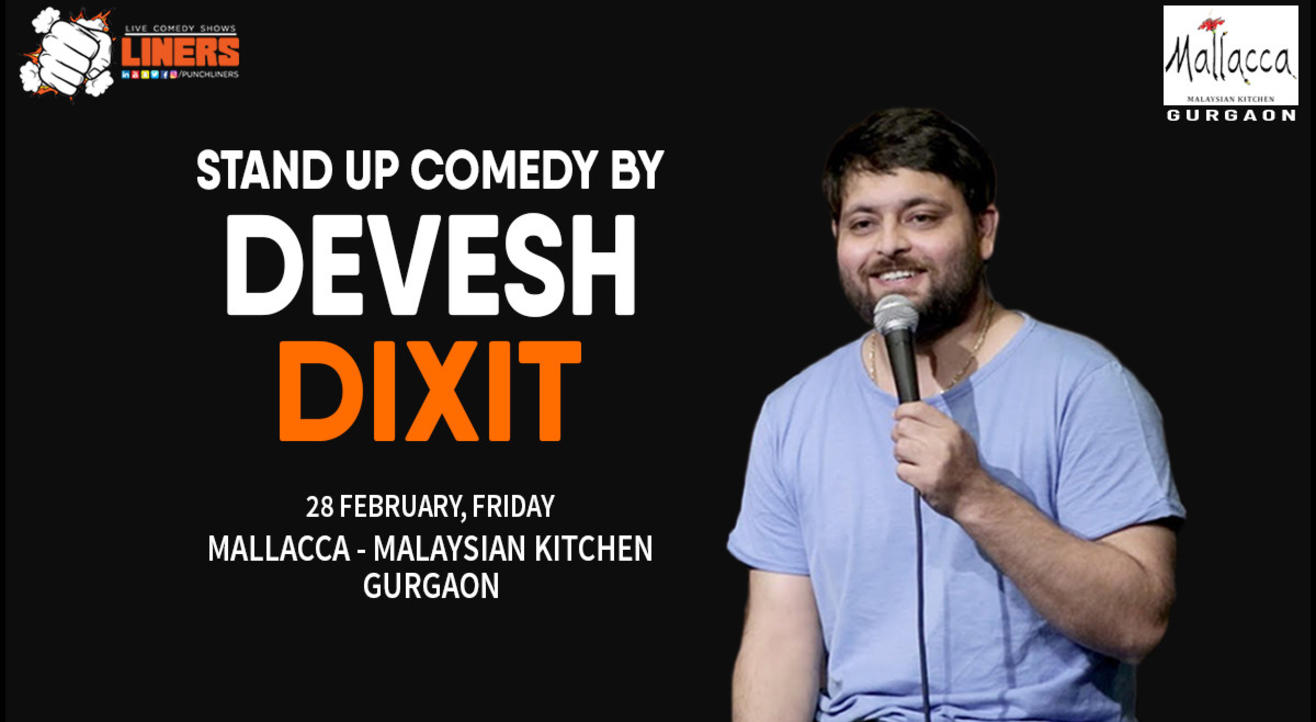 Punchliners Comedy Show ft. Devesh Dixit in Gurgaon