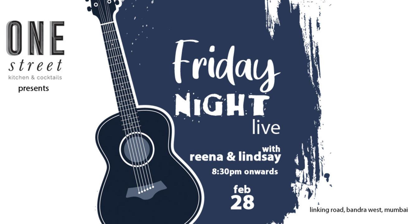 Friday Night Live with Reena & Lindsay