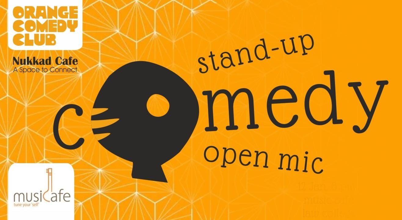 Stand-up Comedy Open Mic - Law College Road