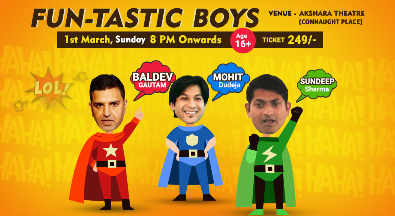 Fun-Tastic Boys - A Stand Up Comedy Show