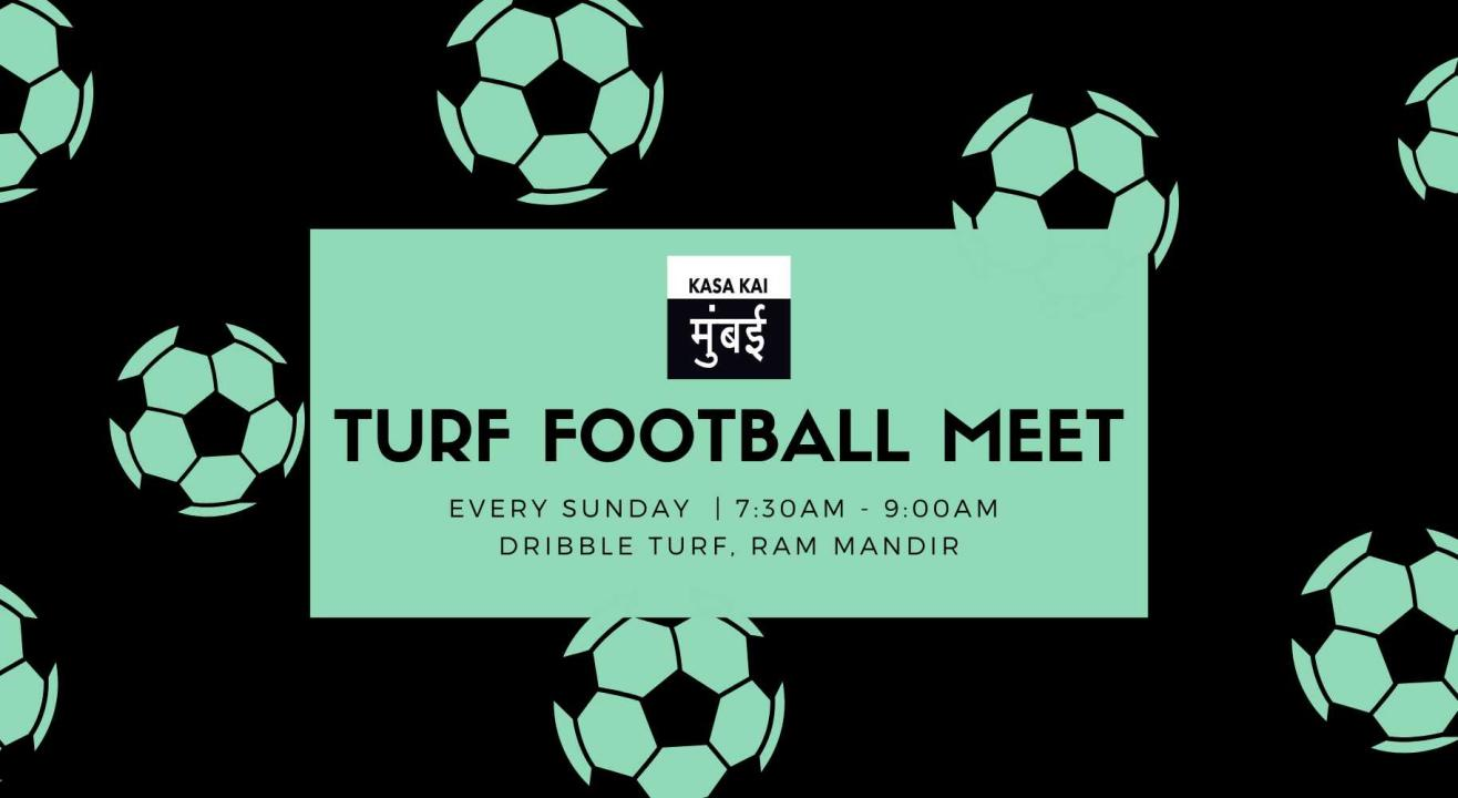 Turf Football At Dribble Football Ground Ram Mandir