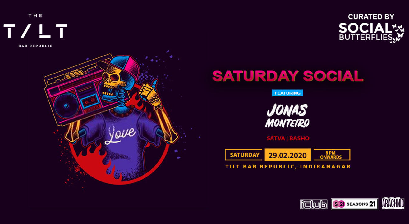 Saturday Social Ft. DJ Jonas Monteiro