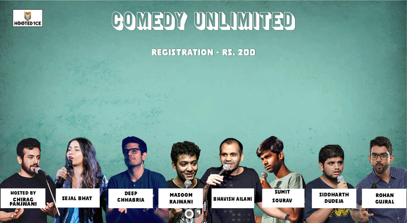 Comedy Unlimited ft. Rohan Gujral & Sumit Sourav