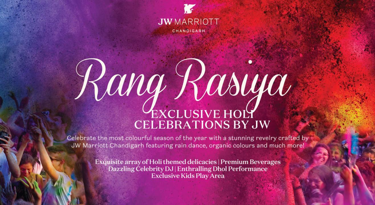 Rang Rasiya : Exclusive Holi Celebrations By JW