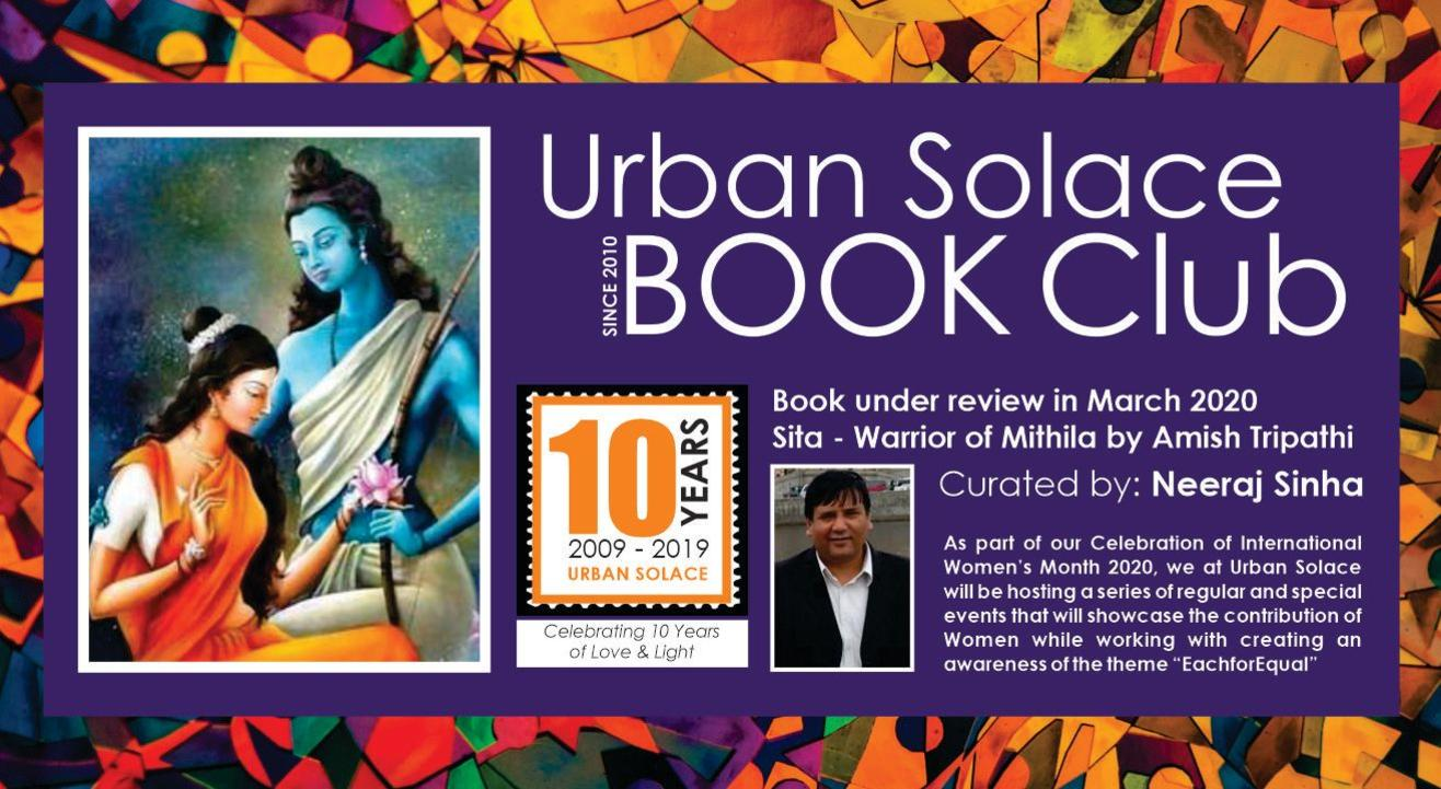 The Urban Solace Book Lovers' Club - March 2020 Meet