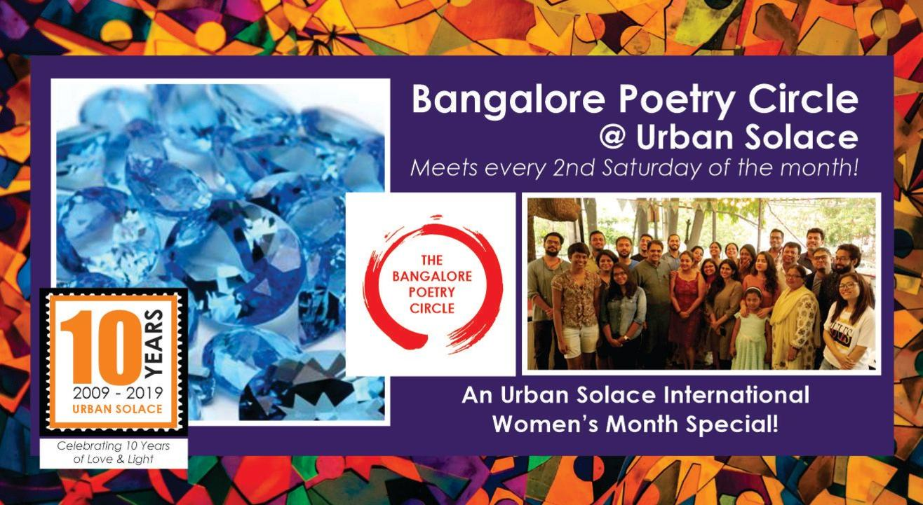 The Bangalore Poetry Circle @ Urban Solace - March 2020 Meet