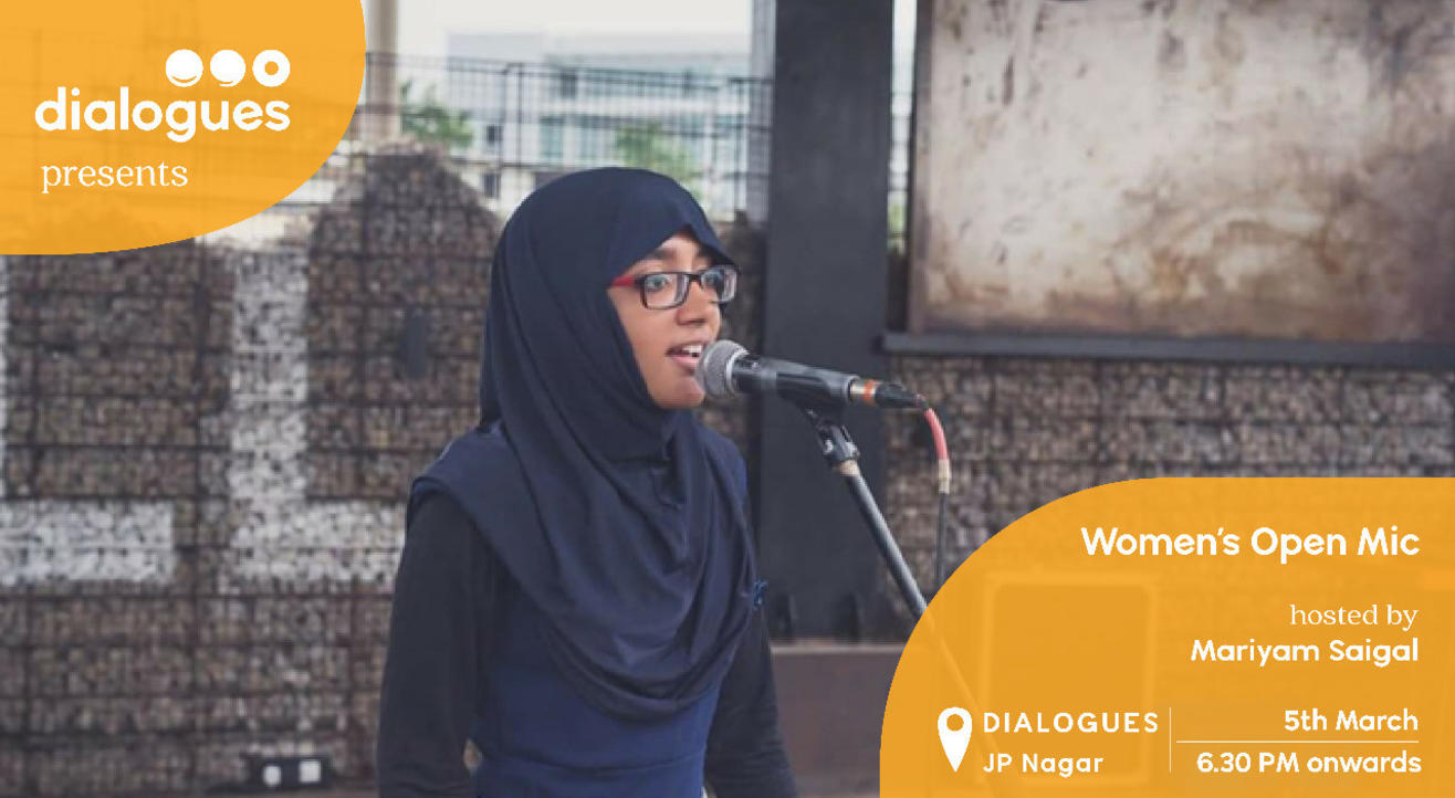 Poetry Open Mic (Women's Day Special)