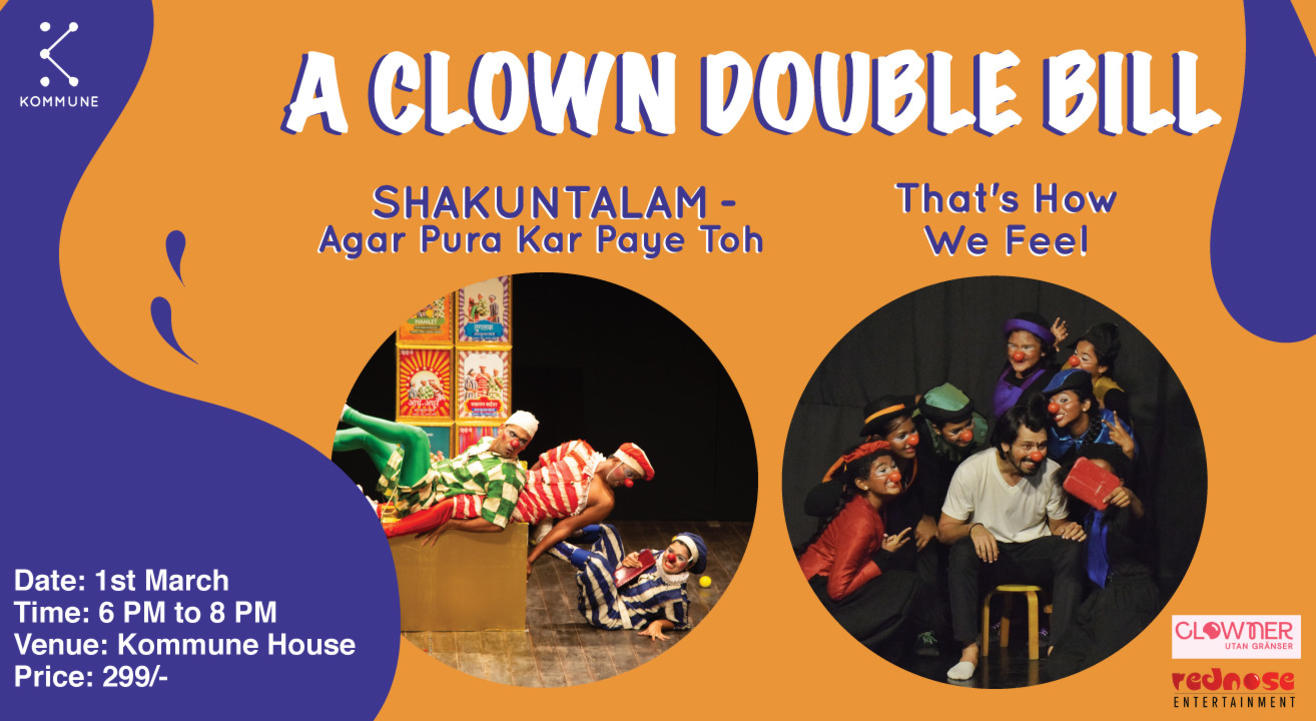 A Clown Double Bill at The Kommune House