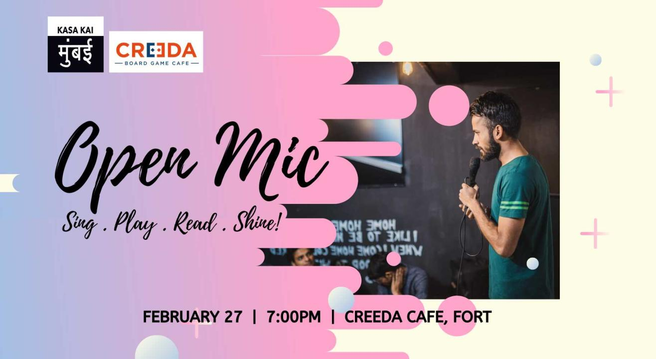 Open Mic At  Fort