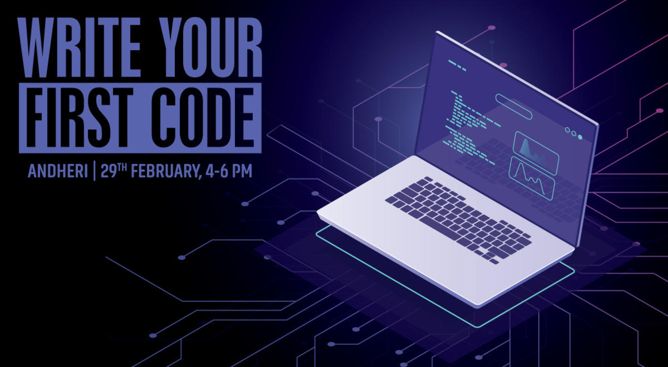 Write your first code