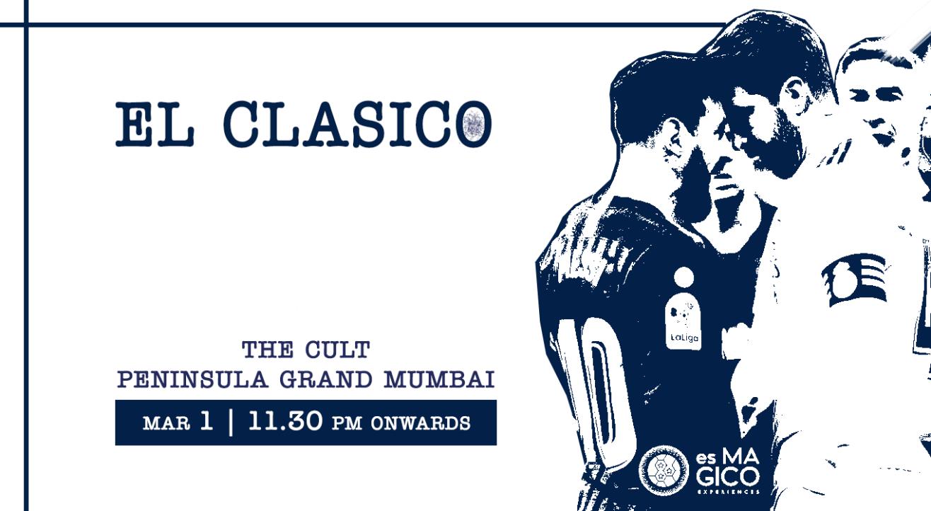Real Madrid v Barcelona | El Clasico Official Joint Screening