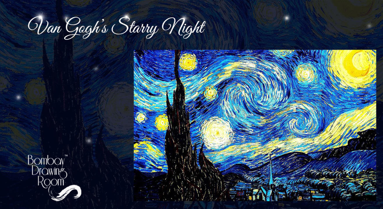 Van Gogh's Starry Night Painting Workshop by Bombay Drawing Room