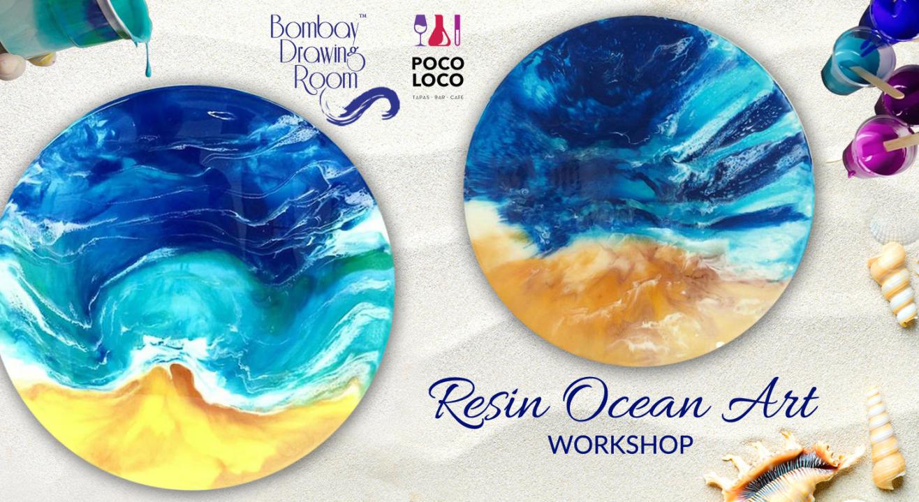 Resin Ocean Art Workshop by Bombay Drawing Room