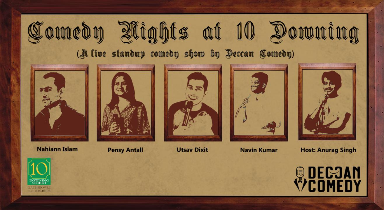 Comedy Nights at 10 Downing
