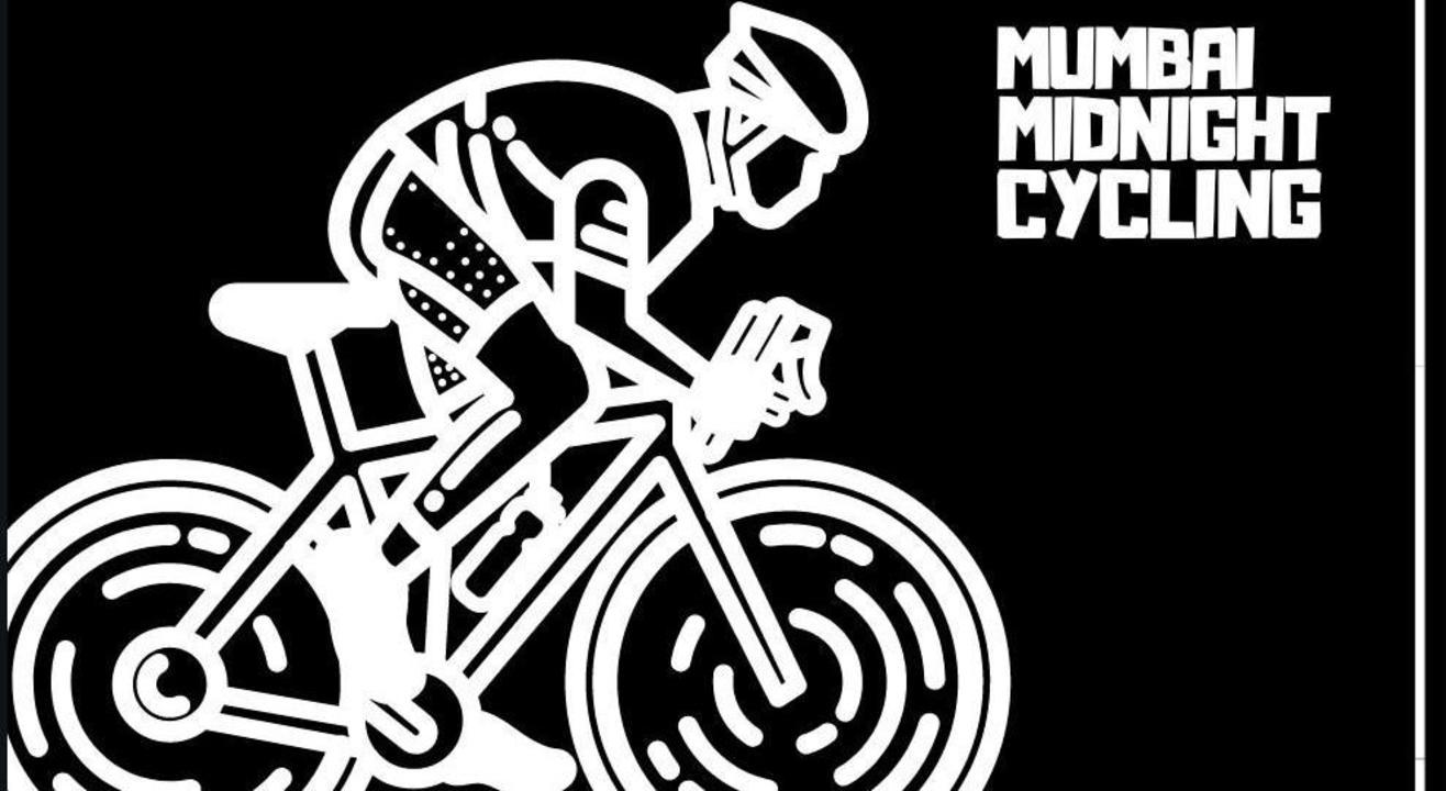 Mumbai Midnight  Cycling Under The Moon-Light.