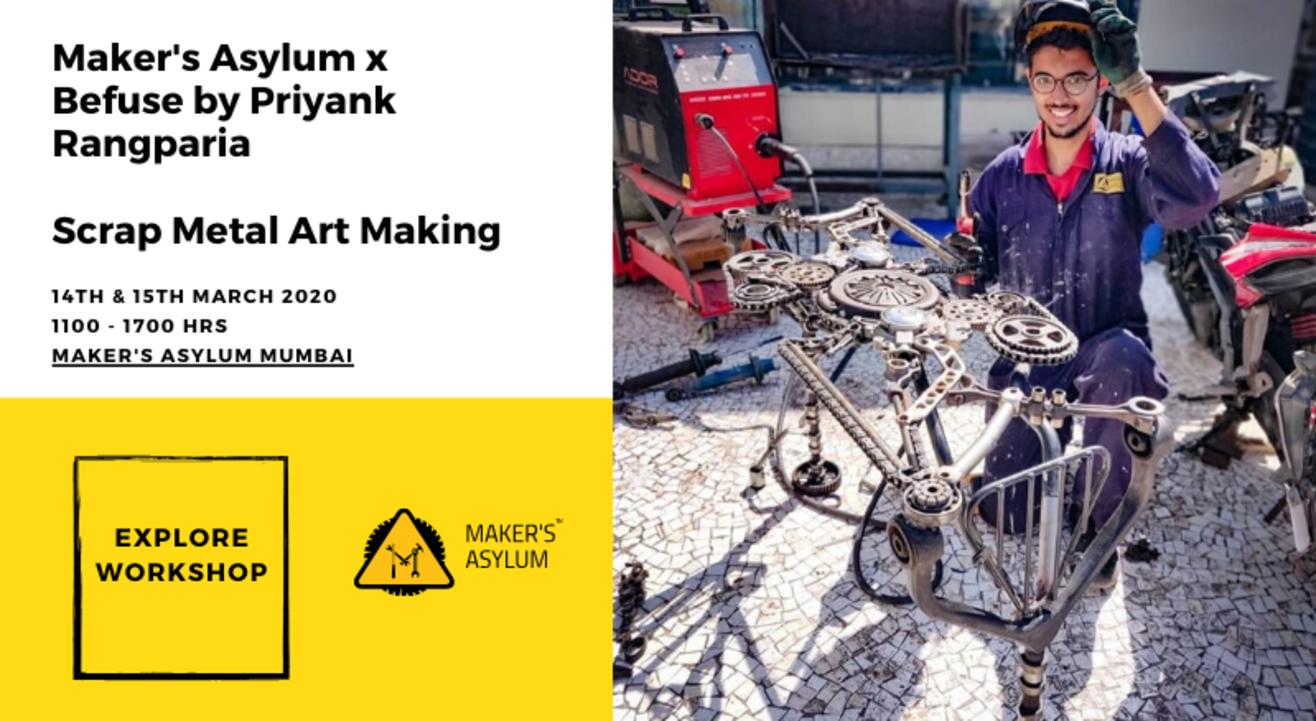 Scrap Metal Art Making Workshop