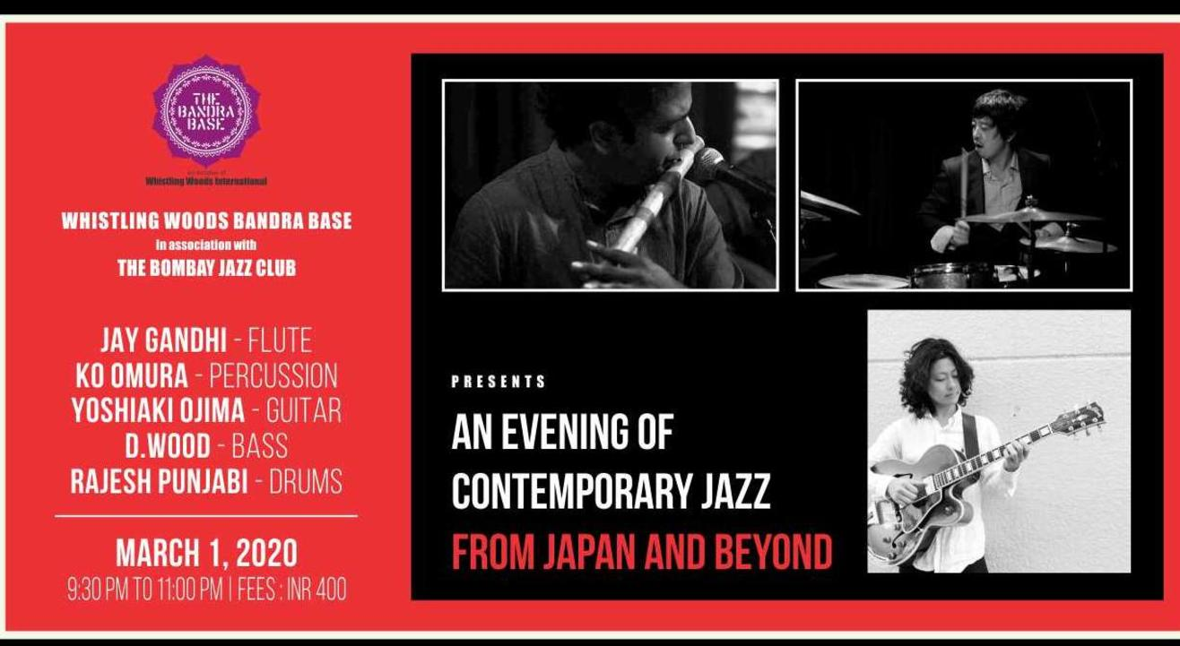 An Evening of Contemporary Jazz from Japan and beyond