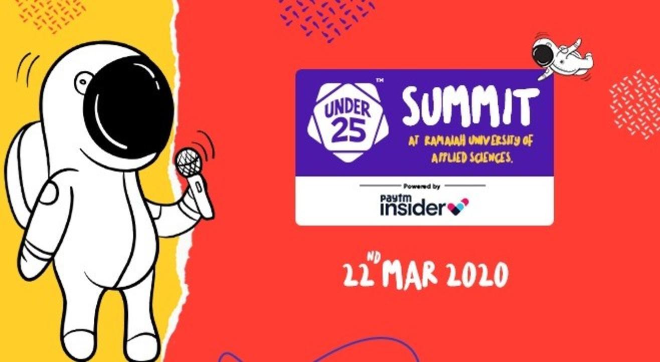 Under 25 Summit at Ramaiah University of Applied Sciences | Bangalore