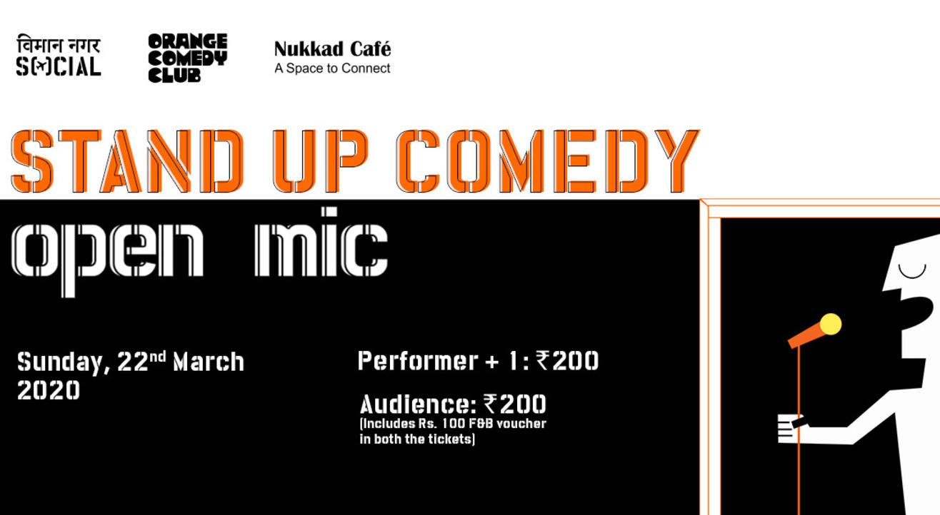 Stand-up Comedy Open Mic - Viman Nagar