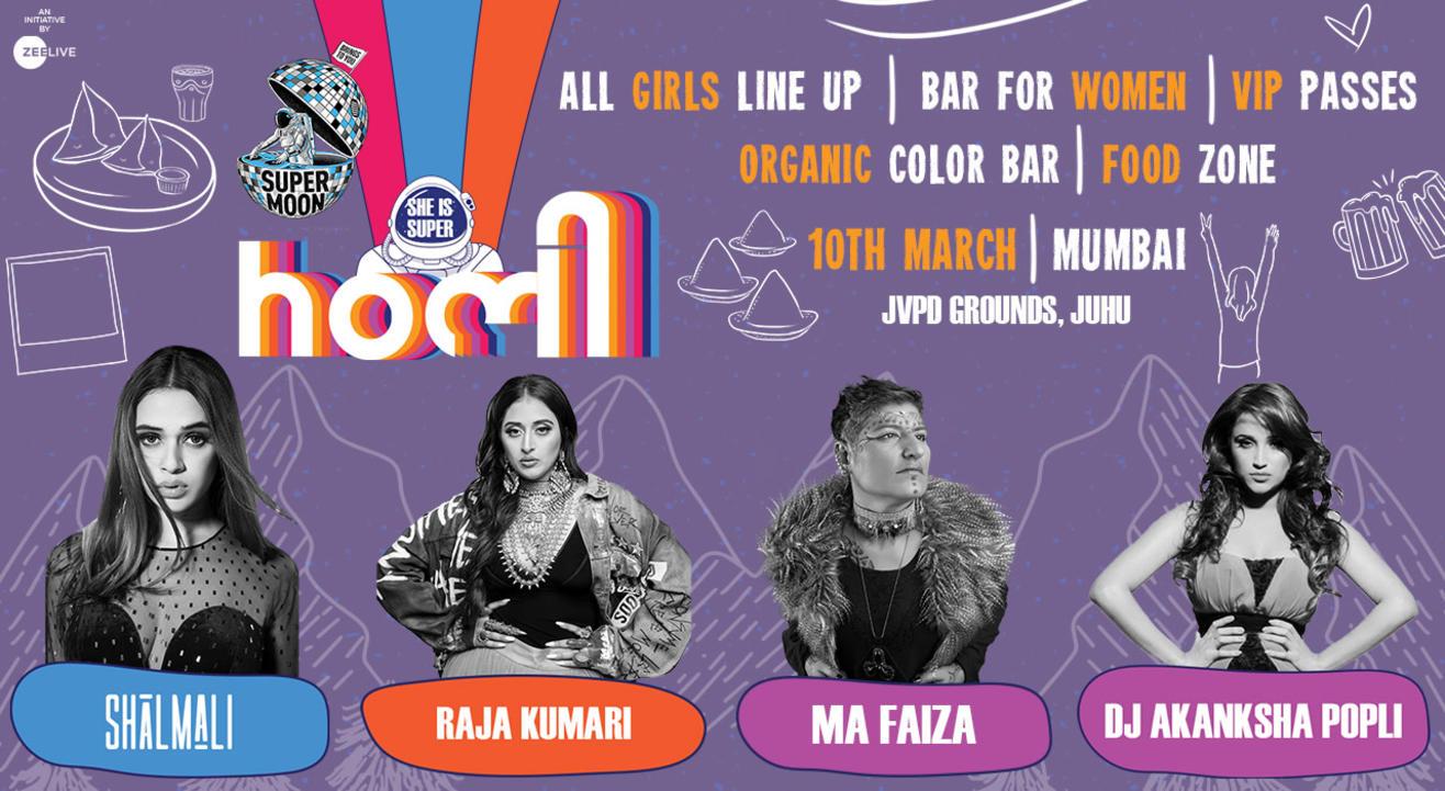 Supermoon Holi | Mumbai | 10th March