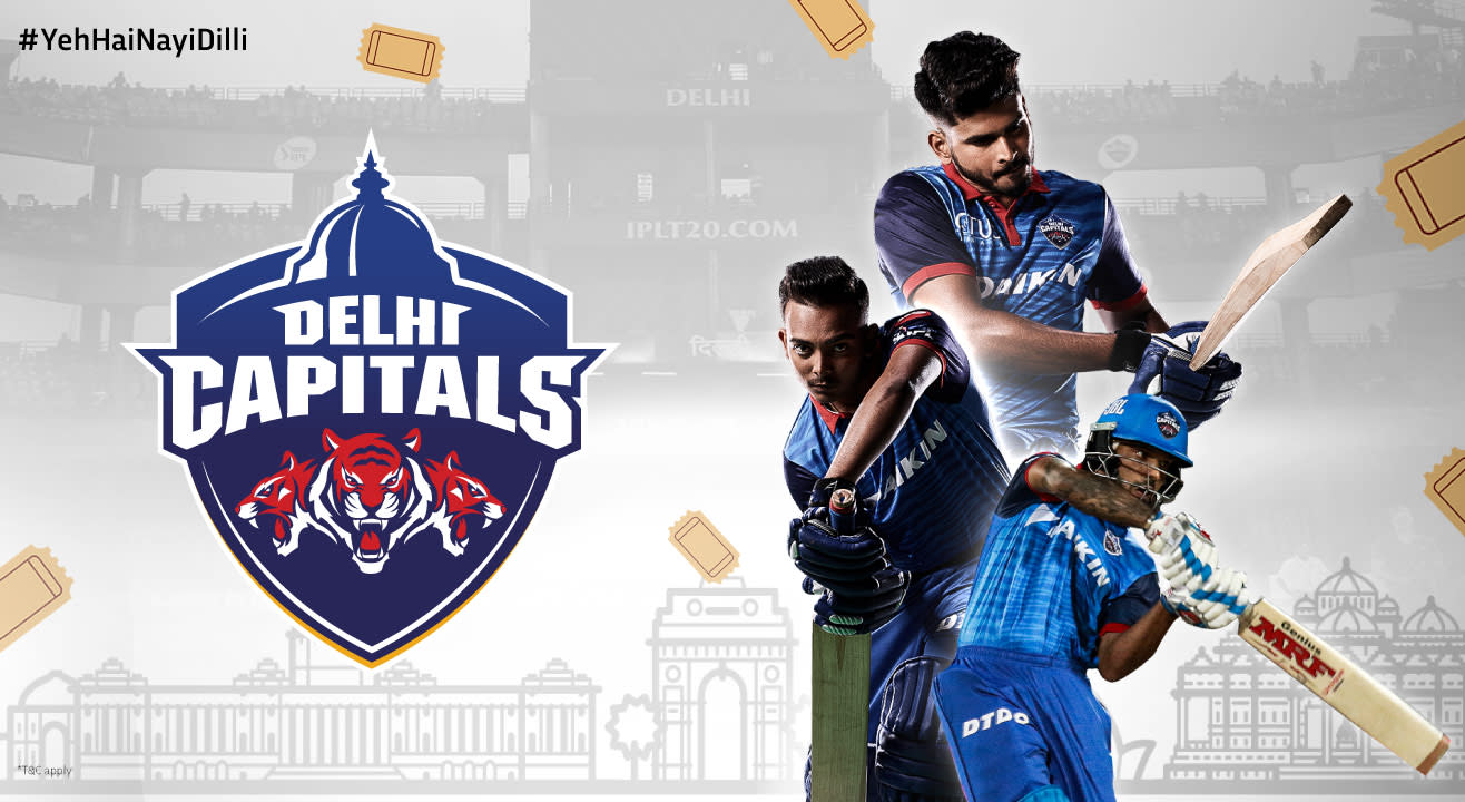Delhi Capitals: Dream 11 Indian Premier League 2020 Tickets, Squad, Schedule & More