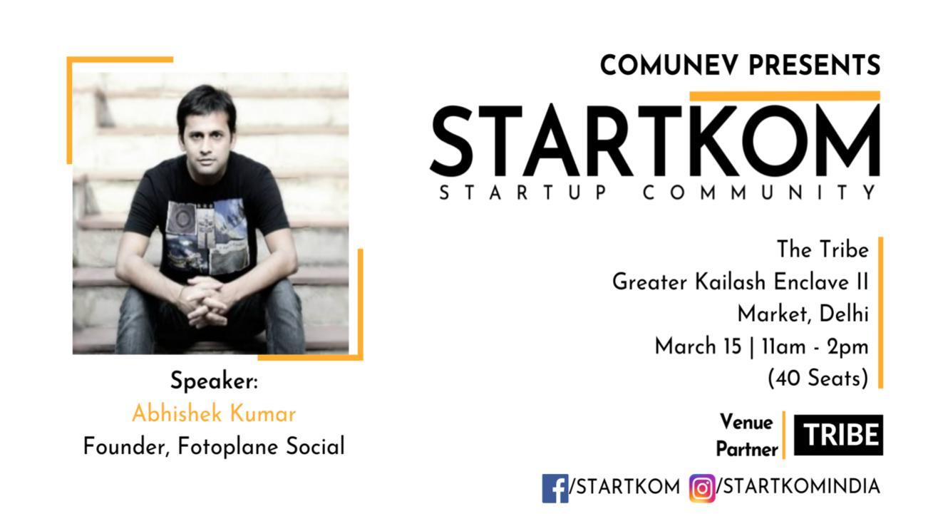 Startkom Mega Event - Startup Networking