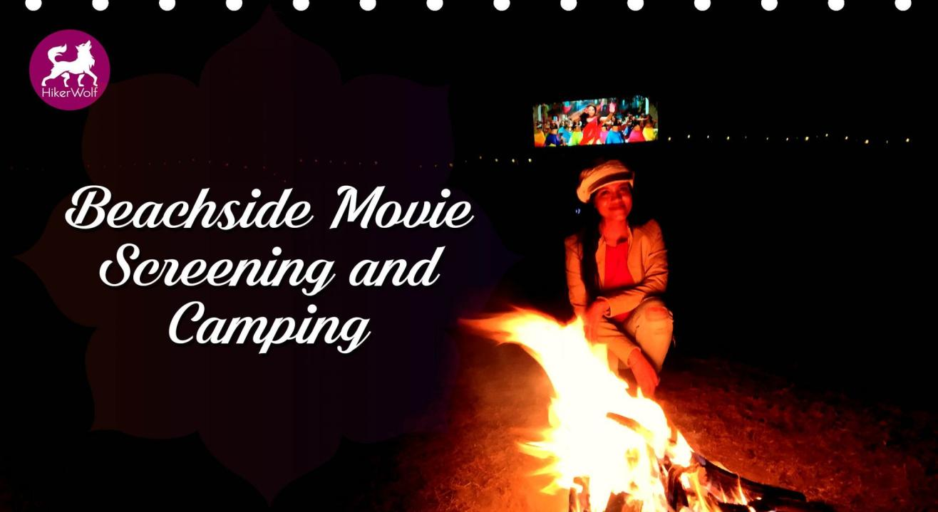Beachside Movie Screening & Alibaug Camping