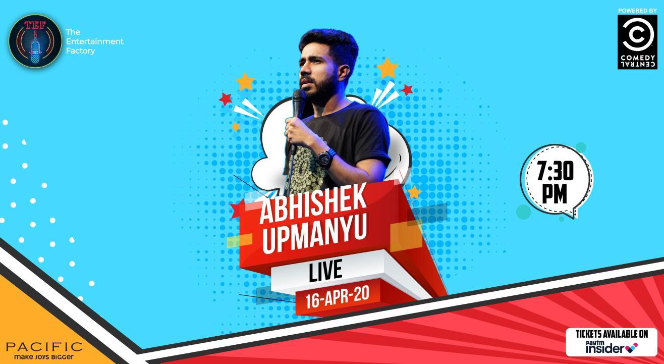 Abhishek Upmanyu Live