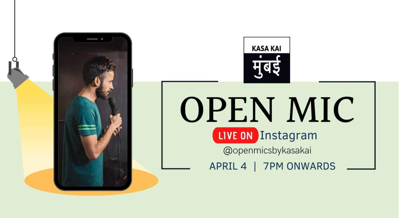 Curated Open Mic With KASA KAI At Live Instagram